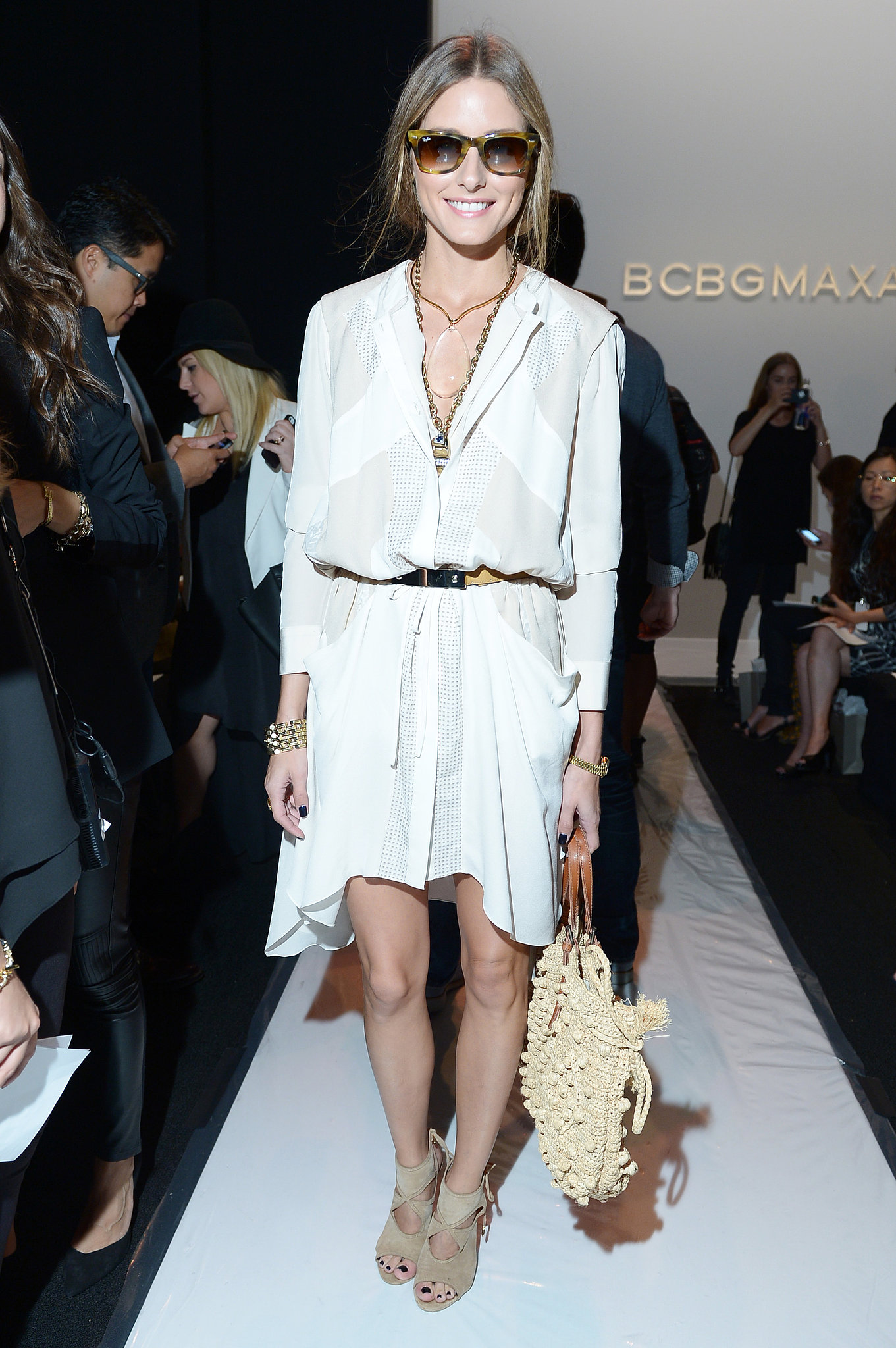 Olivia-Palermo-hit-BCBG-Max-Azria-looking-fresh-white-BCBG-Max